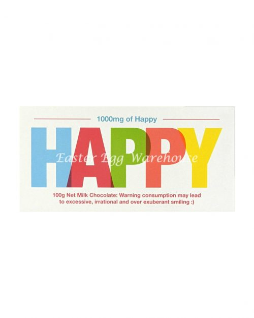 Happy - Milk Chocolate Bar 100g