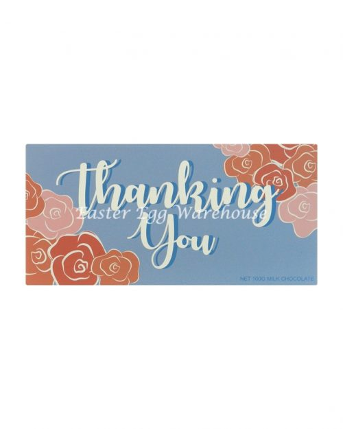Thanking You - Milk Chocolate Bar 100g