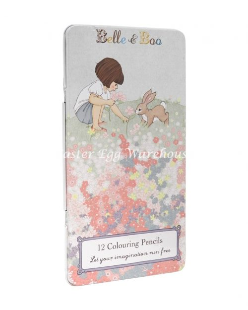 Belle & Boo 12 Colouring Pencils