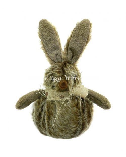 Brown Bunny Ball with Scarf