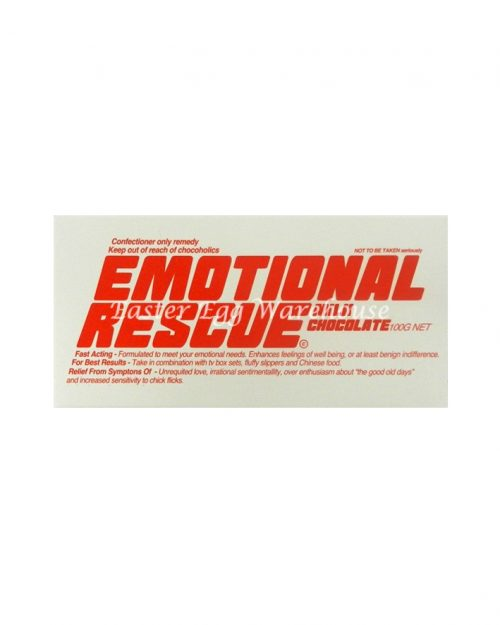 Emotional Rescue - Milk Chocolate Bar 100g
