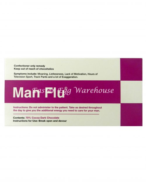 Man Flu - Dark Chocolate 70% Cocoa Bar 100g