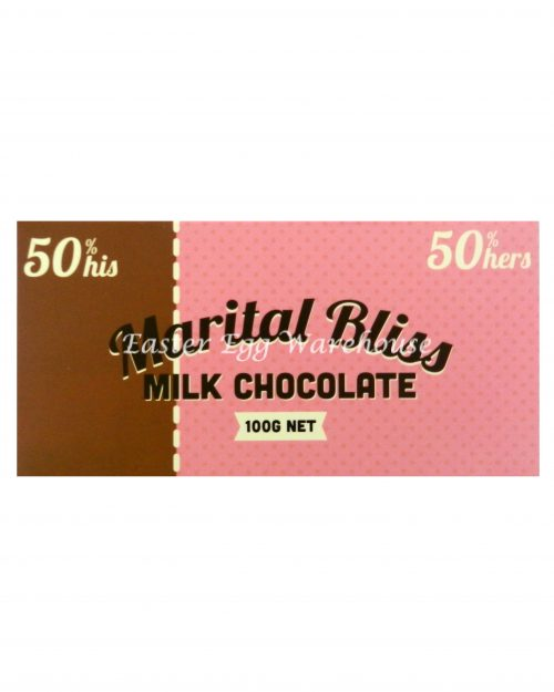 Marital Bliss - Milk Chocolate Bar 100g