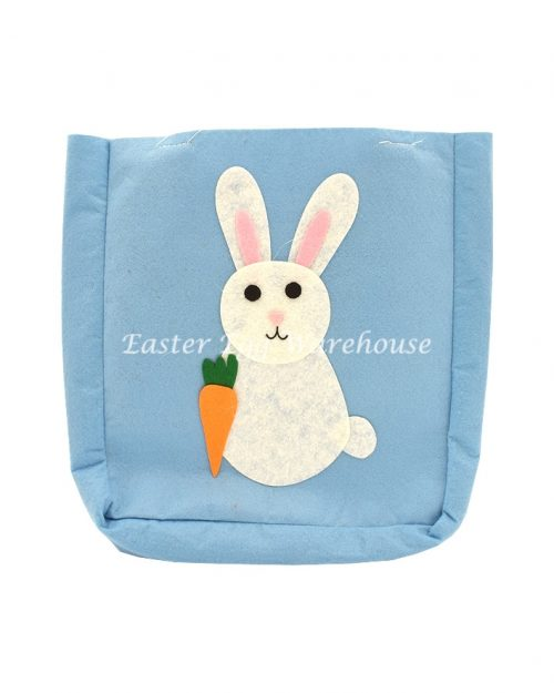 Blue Easter Felt Carry Bag