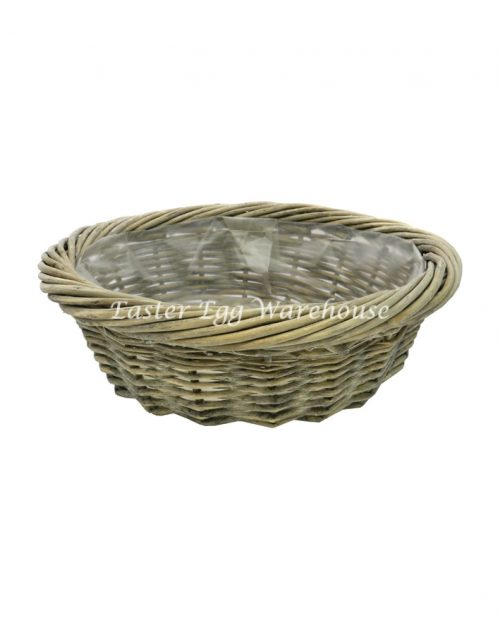 Medium Rattan Round Basket No Handle
