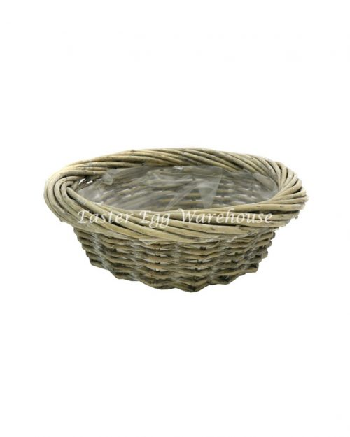 Small Rattan Round Basket No Handle