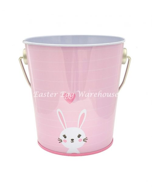 Small Easter Tin - Bunny with Hearts