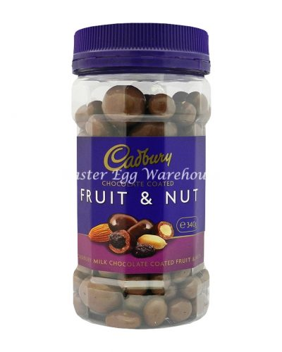 Cadbury Chocolate Coated Fruit & Nut Jar 340g