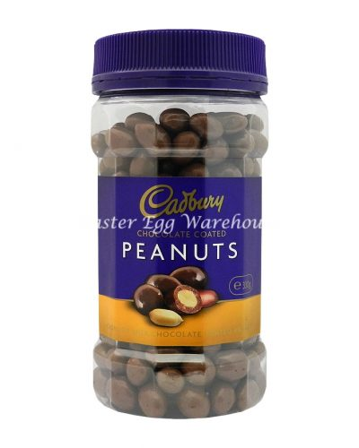Cadbury Chocolate Coated Peanuts Jar 330g
