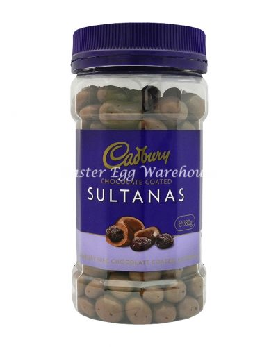 Cadbury Chocolate Coated Sultanas Jar 380g
