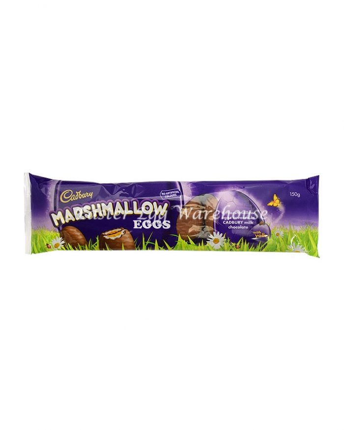 Cadbury Marshmallow Eggs 6 Pack 150g - Buy 1 Get 1 Free
