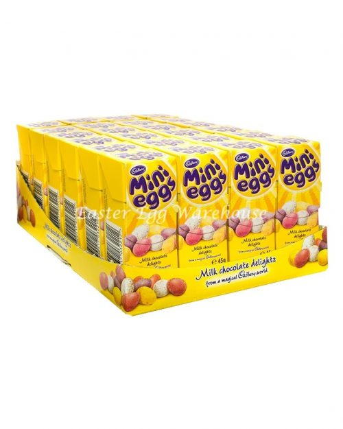 Cadbury Mini Eggs 45g - 24 per Box