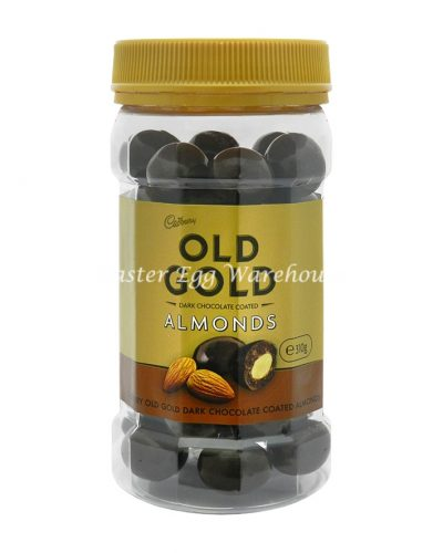 Cadbury Old Gold - Dark Chocolate Coated Almonds 310g
