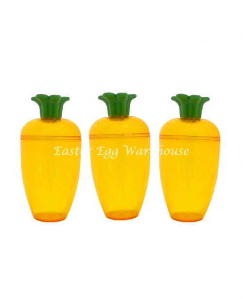 Fillable Carrot Containers Set of 3