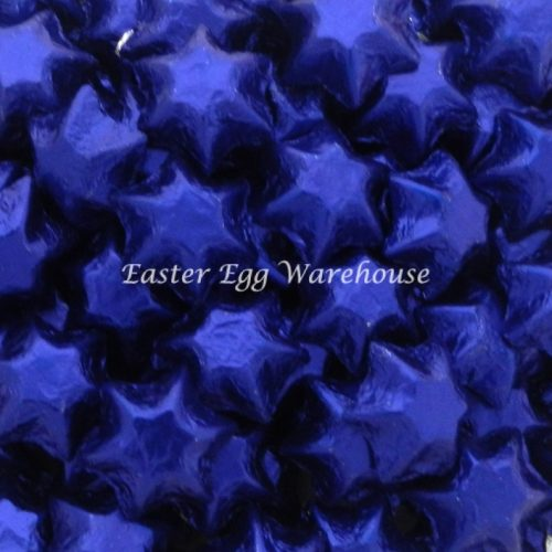 Milk Chocolate Stars - Dark Blue 5kg