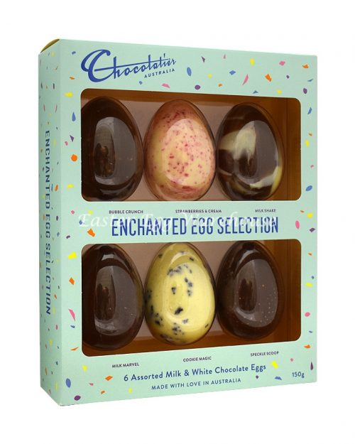 Chocolatier Enchanted 6 Pack Egg Selection 150g