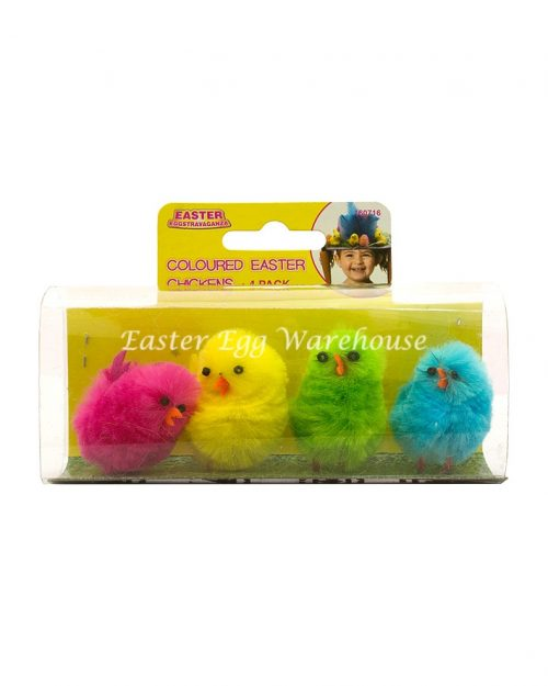 Chicks 5.5cm - Assorted Colours 4pk