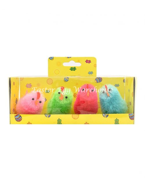 Chicks 6cm - Assorted Colours 4pk