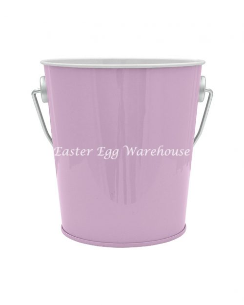 Purple Tin Bucket