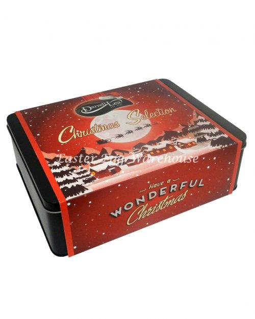 Darrell Lea Christmas Tin Selection 1kg