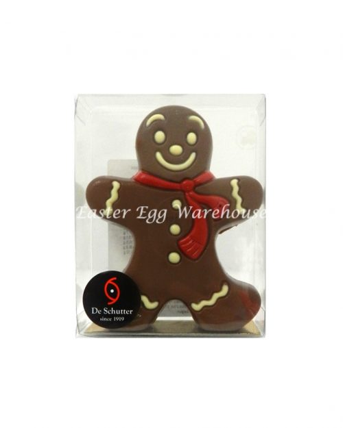 De Schutter Decorated Gingerbread Man 60g
