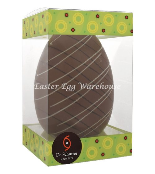 De Schutter Decorated Picasso Milk Egg 250g