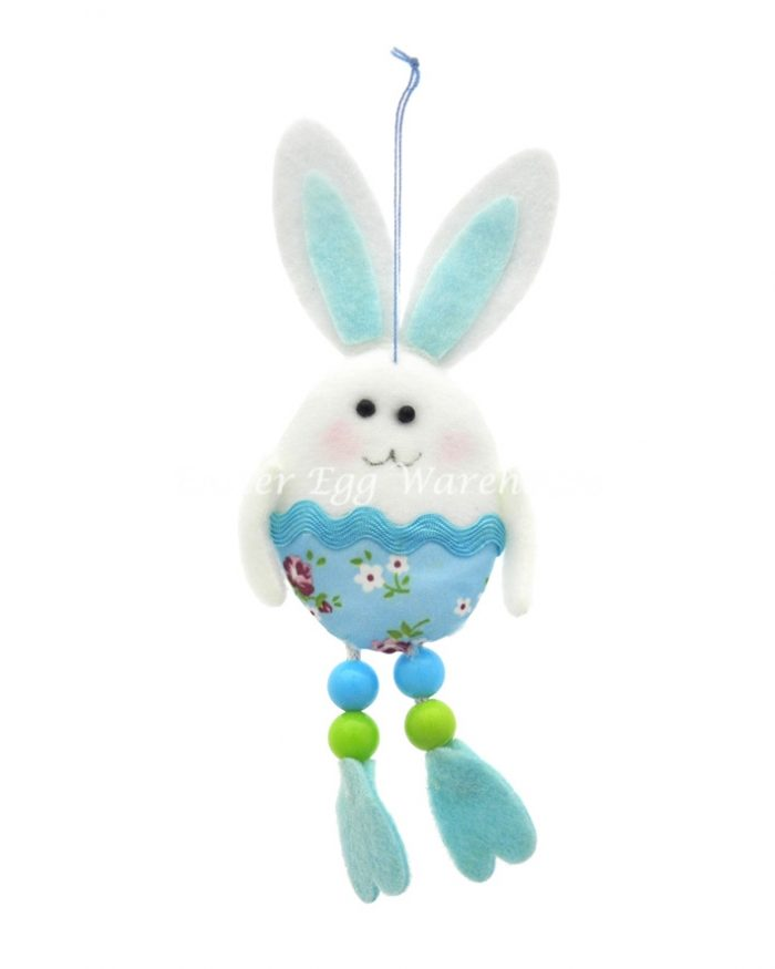 Easter Bunny Hanging/Long Legs Blue