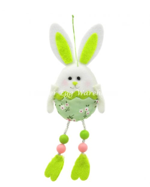 Easter Bunny Hanging/Long Legs Green