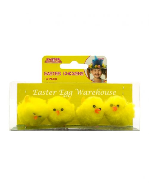 Chicks 5.5cm - Yellow 4pk