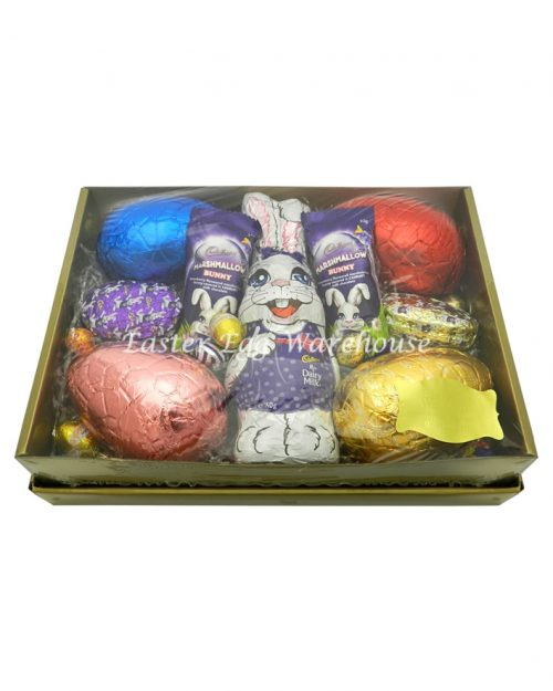 Easter Bunny Gold Tray 825g