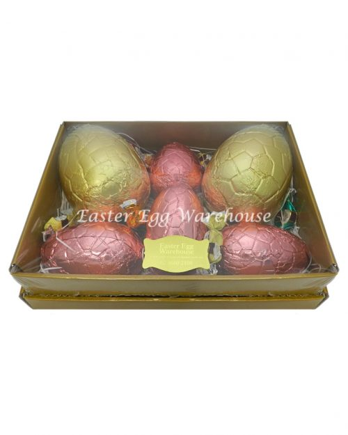 Gold Tray Hamper 900g