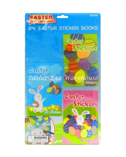 Mini Easter Sticker Books 3pk