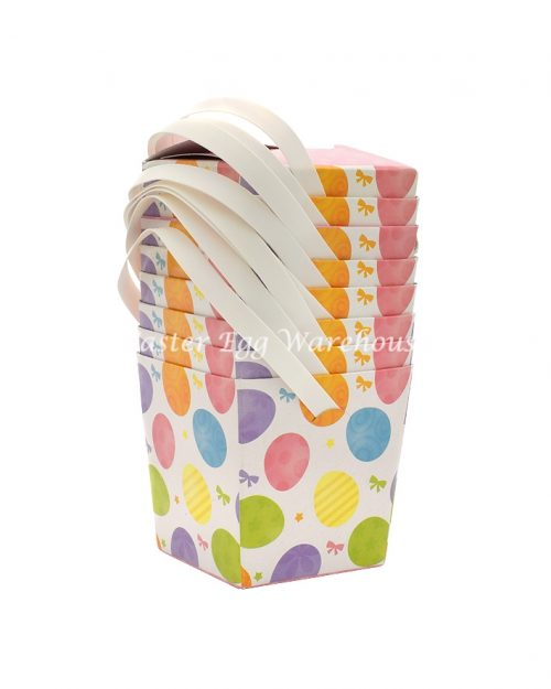 Mini Easter Treat Boxes Assorted Eggs 8pk