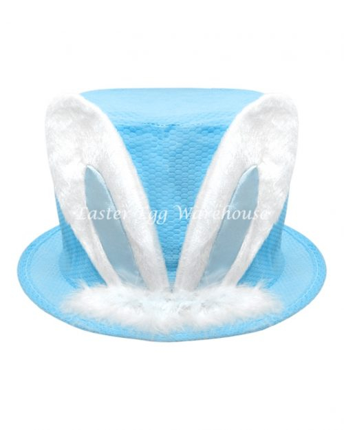 Easter Hat with Bunny Ears Blue