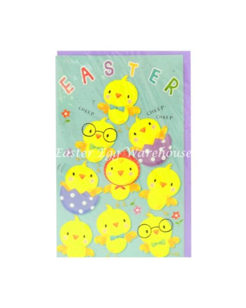 Easter Card - Easter Chicks Cheep Cheep
