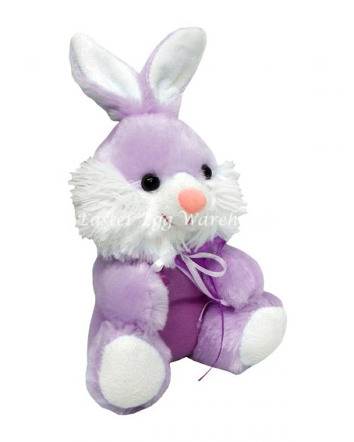 Purple Easter Bunny 16cm