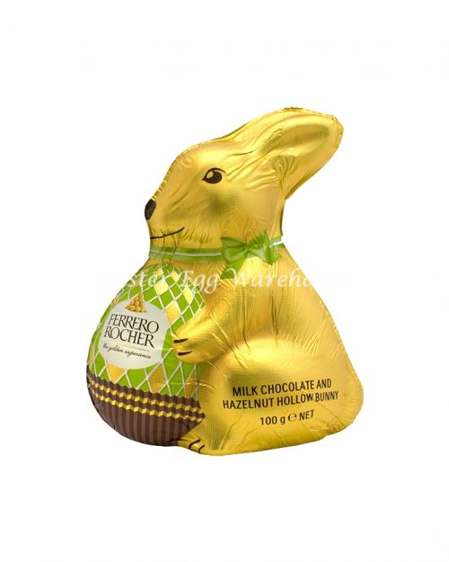 Ferrero Rocher Milk Chocolate and Hazelnut Bunny 100g