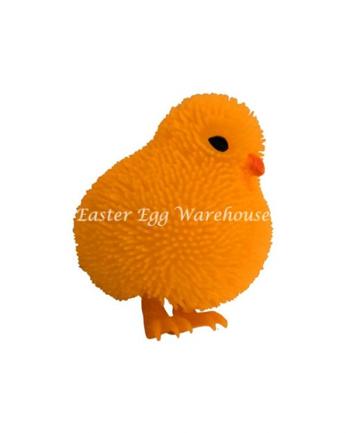 Flashing Cushy Chicken Orange 7cm