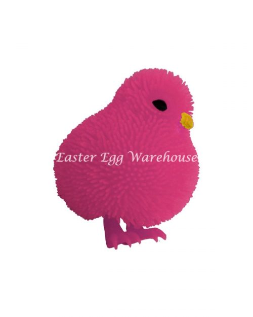 Flashing Cushy Chicken Pink 7cm