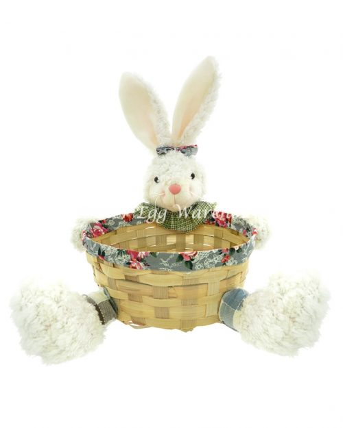 Girl Bunny holding Easter Basket