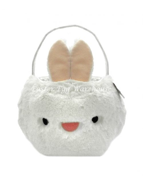 Fluffy Bunny Easter Basket