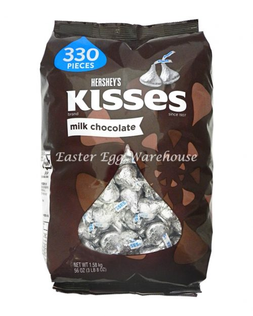 Hershey's Kisses Milk Chocolate 330 Pieces