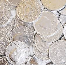Chocolate Silver Coins 75g