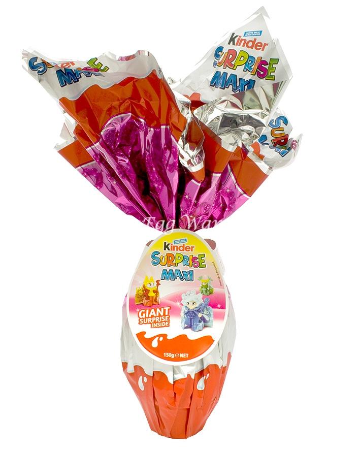 Kinder Maxi Surprise Egg 150g - Pink