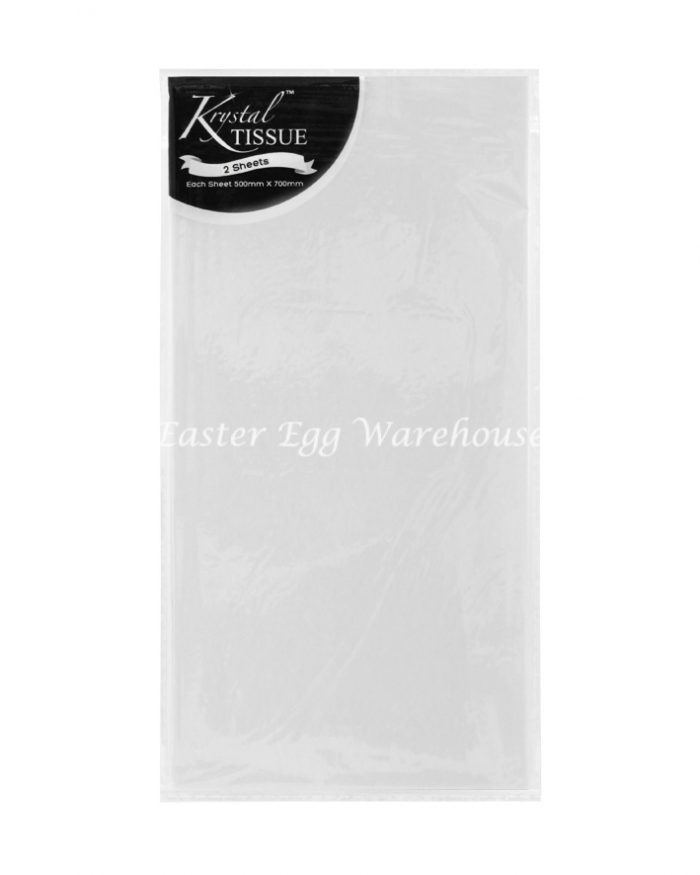 Clear Cellophane - 2 Sheets