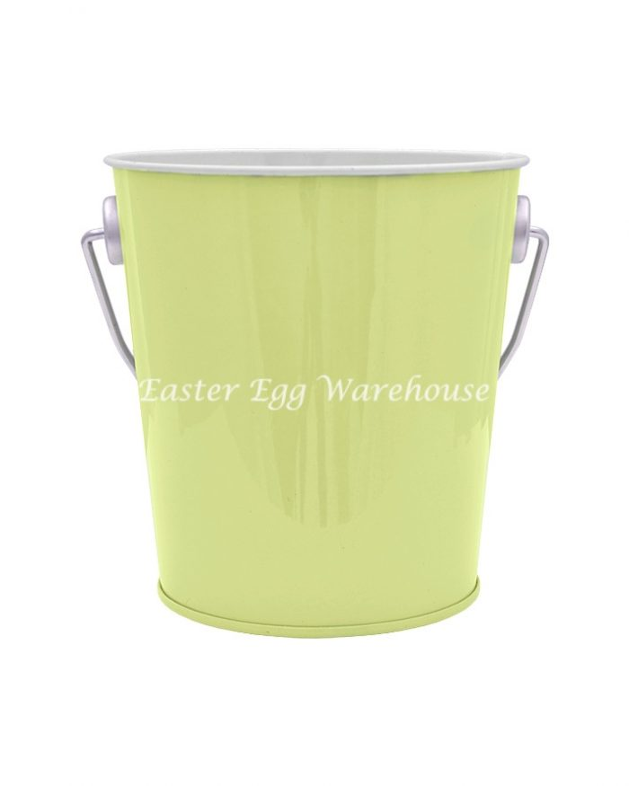 Light Green Tin Bucket