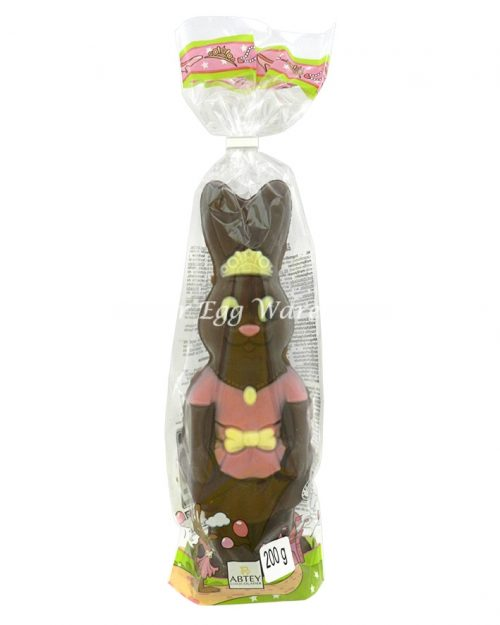 Lily Rose the Princess Chocolate Bunny 200g