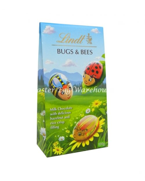 Lindt Bugs & Bees Pouch Bag 98g