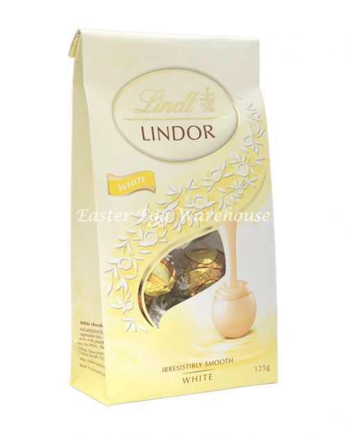 Lindt Lindor White Sharing Bag 125g