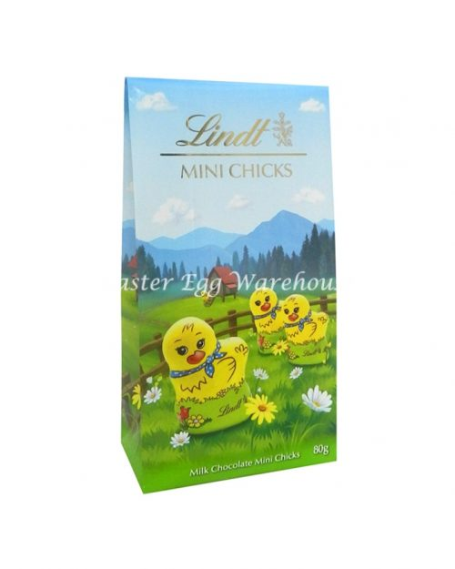 Lindt Mini Chicks Pouch Bag 80g